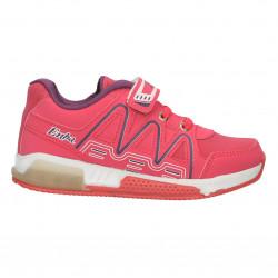 Pantofi sport, roz, cu inchidere scai