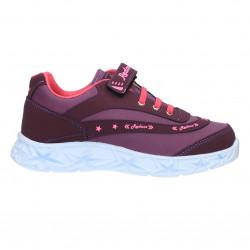 Pantofi culoare mov, stil sport, pentru fetite