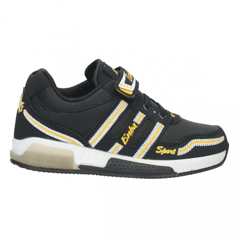 Sneakers baieti, model modern, cu scai