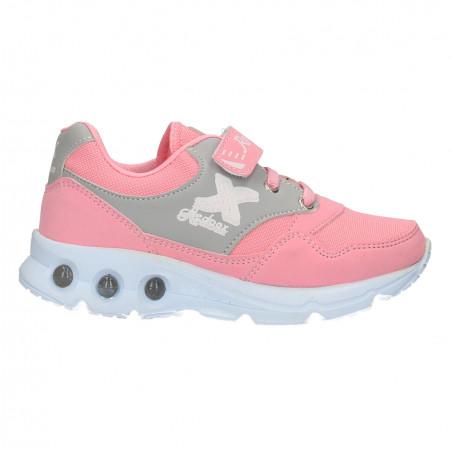 Pantofi fete, cu scai, stil sport