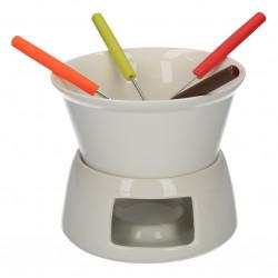 Set de fondue, din ceramica glazurata
