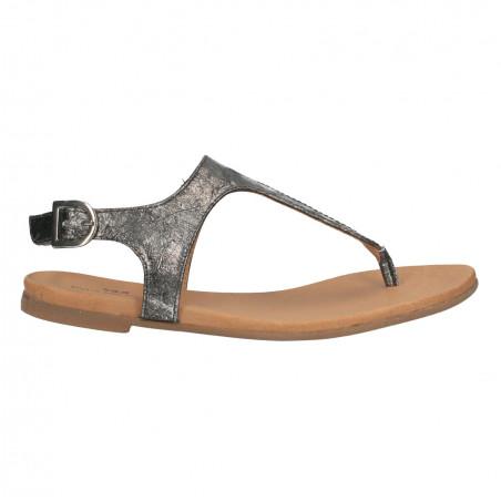 Sandale dama, infradito, piele naturala