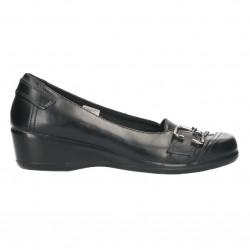 Pantofi dama, negri, piele naturala