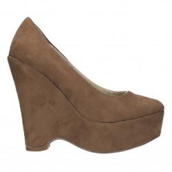 Pantofi dama, cu platforma inalta