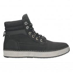 Ghete sneakers, barbatesti, culoare neagra
