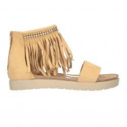 Sandale fashion, cu franjuri, pentru femei