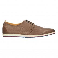Pantofi barbati, piele naturala moale