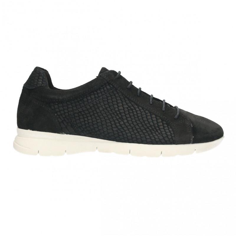 Sneakers dama, stil urban, piele intoarsa
