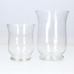 Decor pentru lumanare, recipient sticla