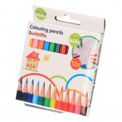 Creioane colorate mici, set...