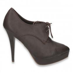 Pantofi dama, cu siret,...