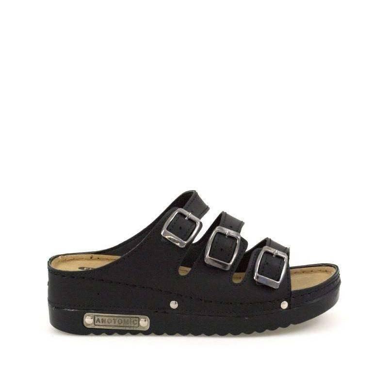 Saboti dama culoarea neagra marca Fly Shoe VGTT07-092N