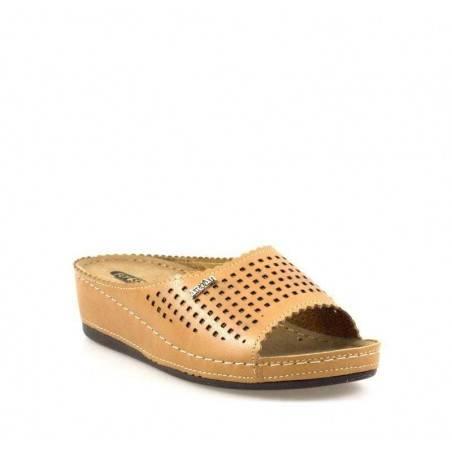 Saboti dama culoarea maro marca Fly Shoe