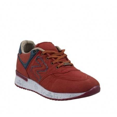 Pantofi sport barbati rosu marca Masst Coton