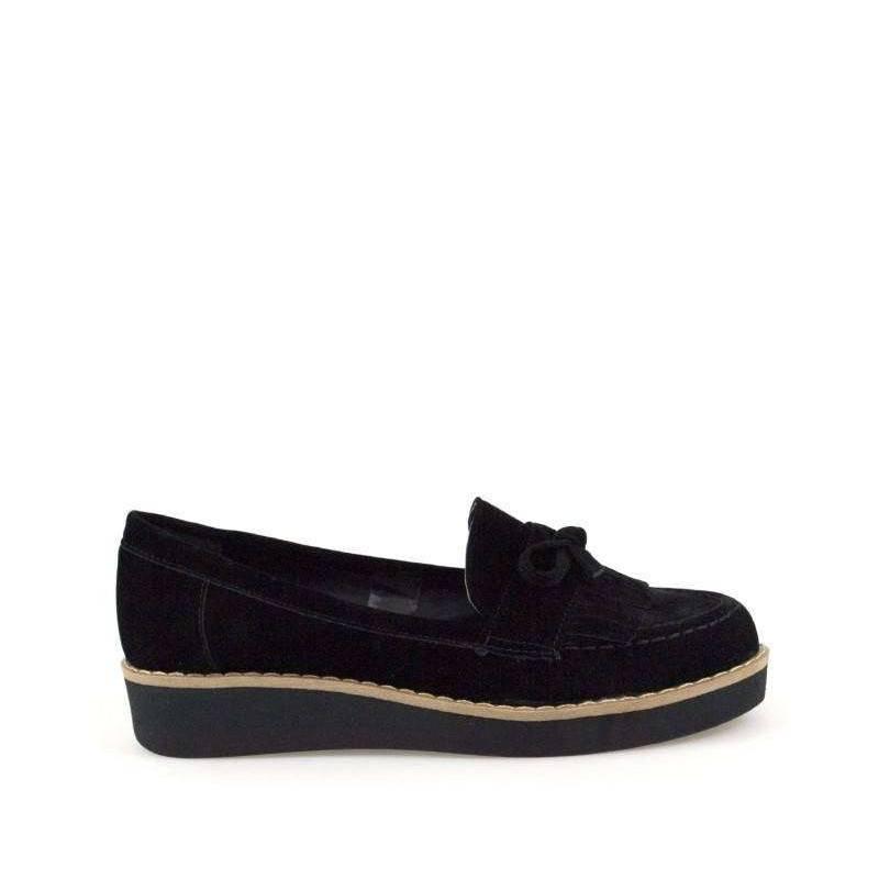 Pantofi dama casual negru marca Ventes VGT07631ZN-134