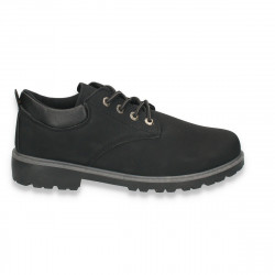 Pantofi barbati, model clasic, negru, din piele eco