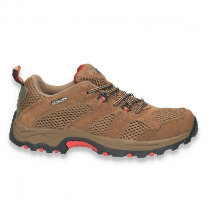 Pantofi sport, stil trekking, din piele, pentru femei
