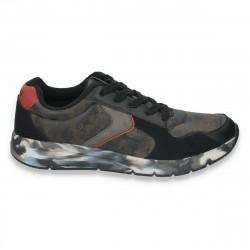 Sneakers barbati, cu imprimeu army