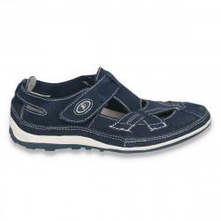 Pantofi casual, din piele, cu decupaje si talpa flexibila, pentru femei  - LS75