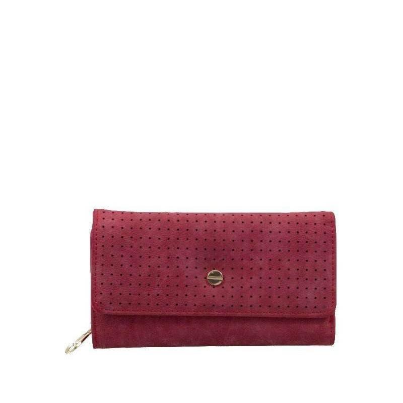 Portofel dama rosu VBPMLA3063-LDIV-SH-R