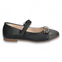 Pantofi fete, cu irizatii si strasuri - W4