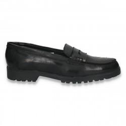 Pantofi dama, model clasic, din piele - W11