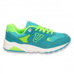 Pantofi sport, pentru femei, turcoaz - W30