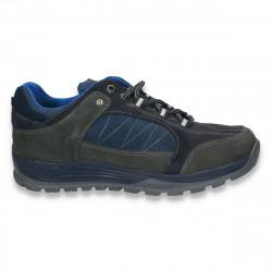 Pantofi trekking, pentru barbati, bleumarin - W35