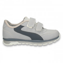 Pantofi sport cu scai, pentru baieti, gri - W41