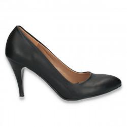 Pantofi eleganti, model clasic, cu toc mediu - W54