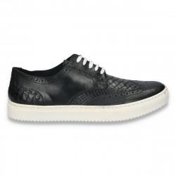 Pantofi casual barbati, din piele, stil Oxford - W64