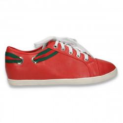 Pantofi dama sport-casual, rosii - LS307