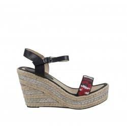 Sandale dama casual negru marca Dame Rose VGFE1209N.MS