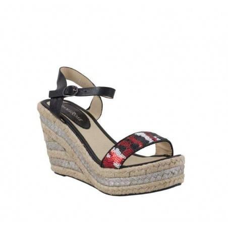 Sandale dama casual negru marca Dame Rose