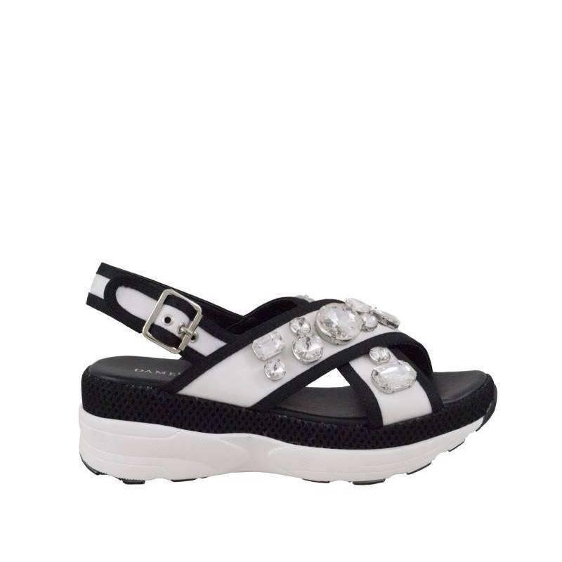 Sandale dama casual alb marca Dame Rose VGFF183A.MS