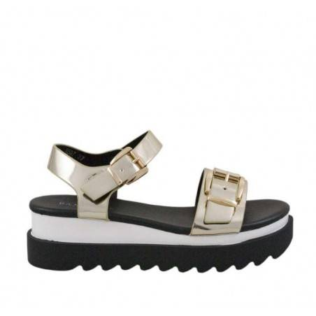 Sandale dama casual negru marca Fly For VGFR507AU.MS
