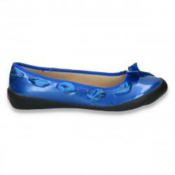 Balerini fashion cu fundita, albastri - LS397