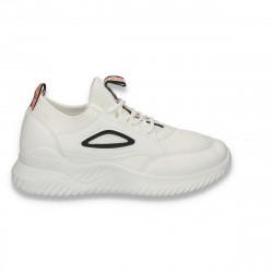 Pantofi sport femei, alb-negru - W92