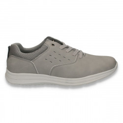 Sneakers casual pentru barbati, gri - W109