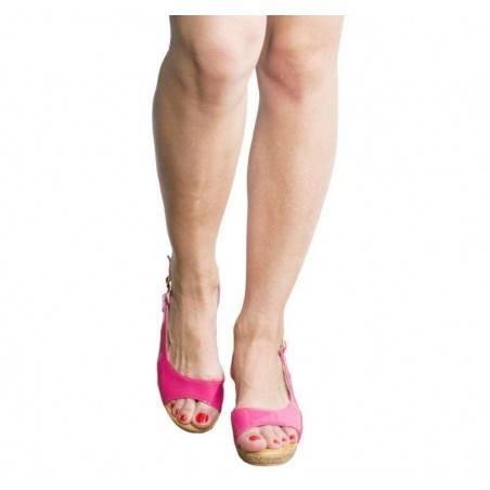 Sandale dama casual fucsia marca Mellisa
