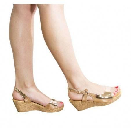 Sandale dama casual auriu marca Mellisa VGFY67AU.MS-105