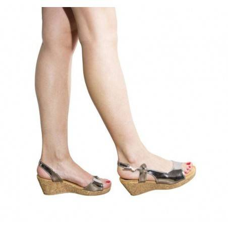 Sandale dama casual argintiu marca Mellisa
