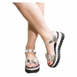 Sandale dama casual argintiu VGFR507AG.MS