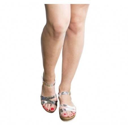 Sandale dama casual argintiu marca Dame Rose VGFR2418AG.MS