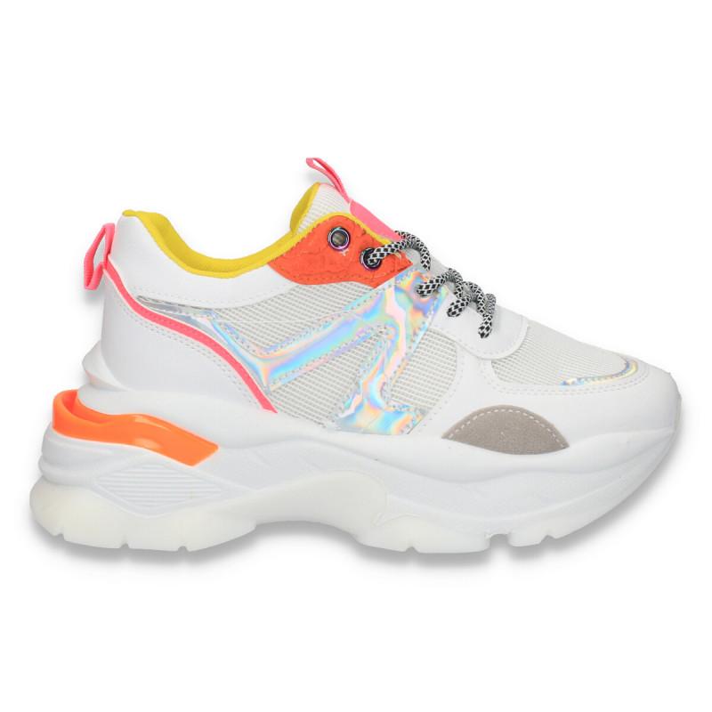 Sneakers trendy dama, cu talpa groasa - W160