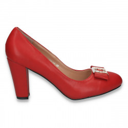Pantofi office pentru dama, cu toc gros - LS443