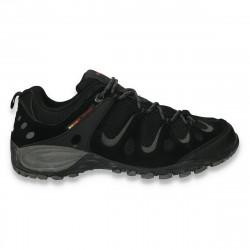Pantofi trekking barbati, negri - LS458