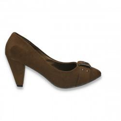 Pantofi femei office, kaki - LS463