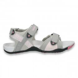 Sandale sport, pentru femei, gri-roz - LS474