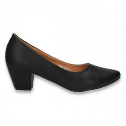 Pantofi model clasic, pentru femei, negri - LS500